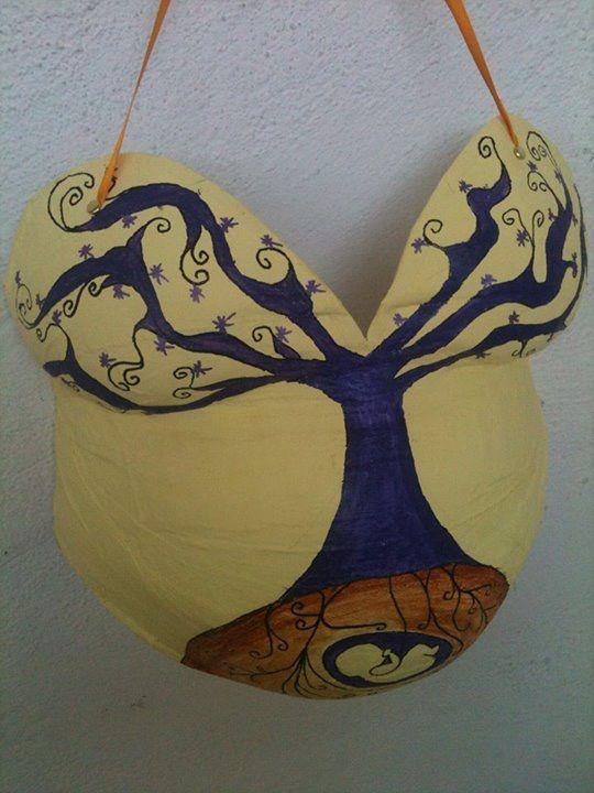 Molde panza arbol
