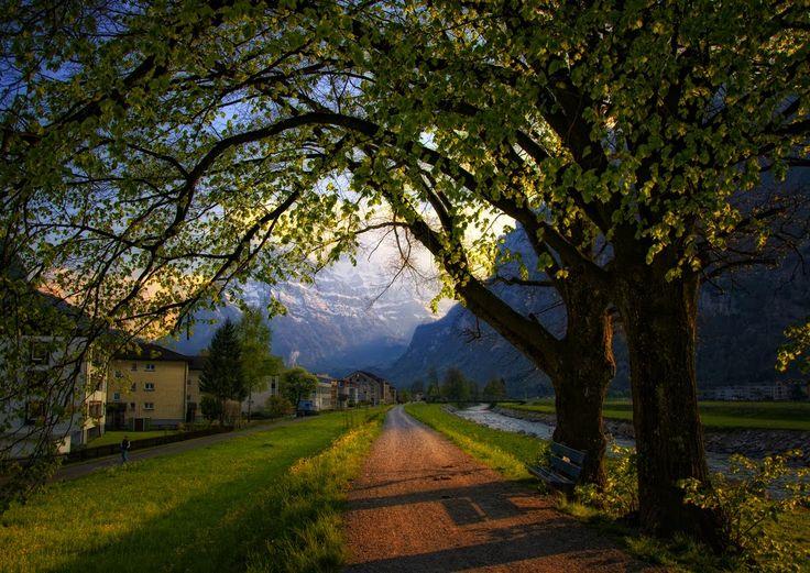 Näfels, Glaris, Schweiz