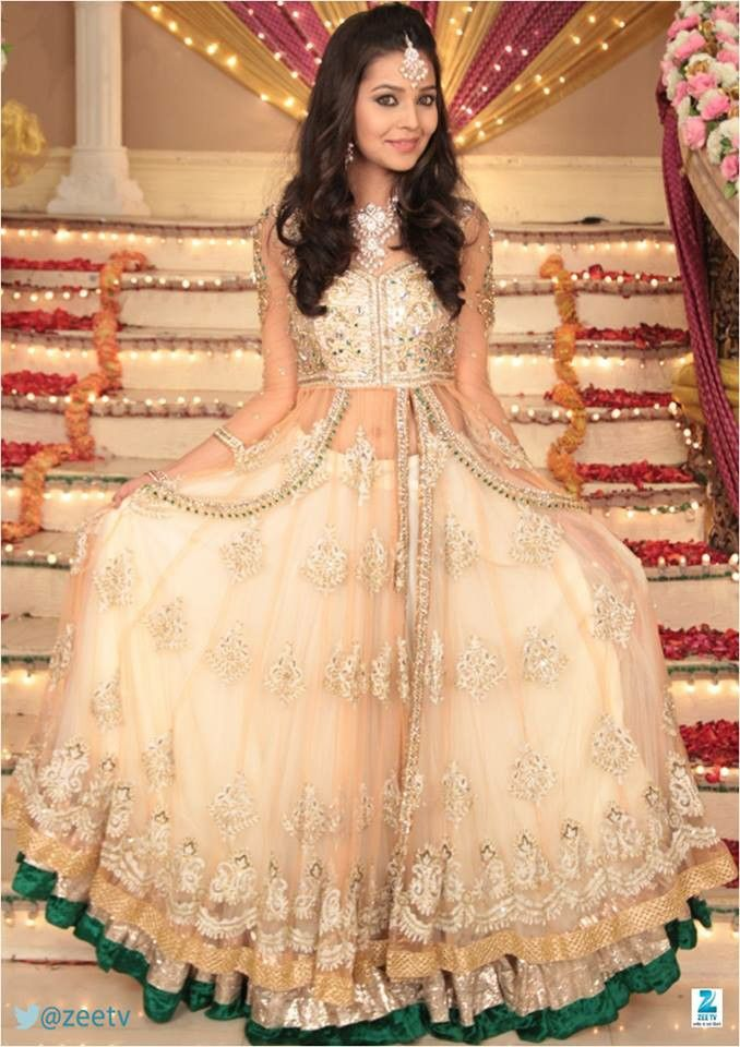 Anarkali with Lehenga