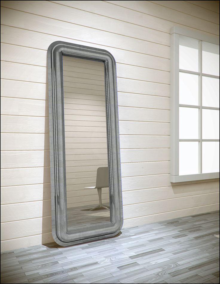 #convex mirror, design by #altreforme #officina, #interior #home #decor #homedecor #furniture #aluminium