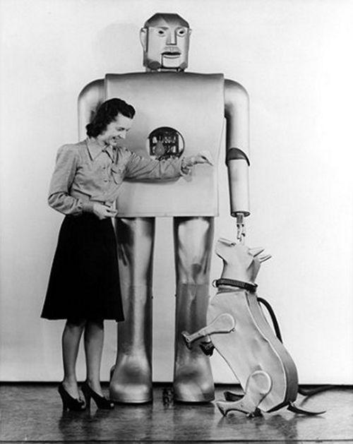 Mechanical Man's Best Friend.