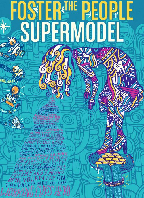 Foster the People - Supermodel. AKA - The best album in a long time!