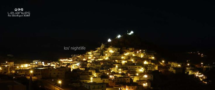Ios Island magnificent night view... http://blog.levantes.gr/2013/06/ios-nightlife.html