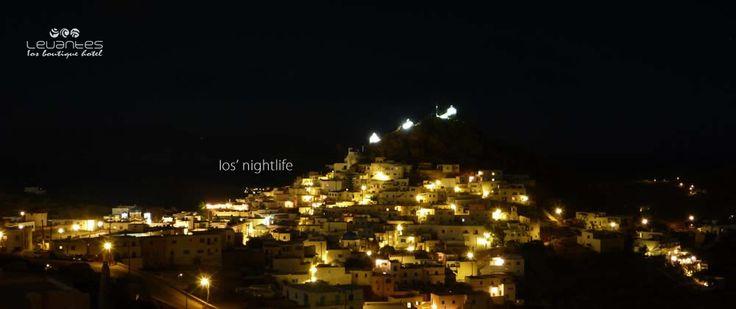 Ios Island magnificent night view... http://blog.levantes.gr/2013/06/ios-nightlife.html
