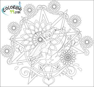 31 Best Disney Fairies Coloring Pages Images On