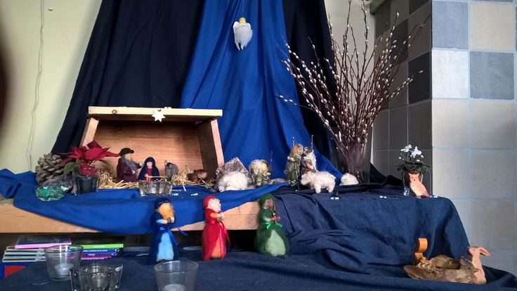 Kerst in de stal.