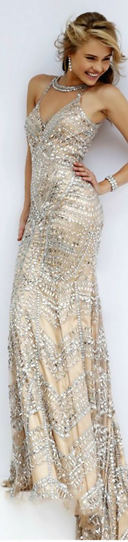 Glamourous for New Year's Eve. Sherri Hill