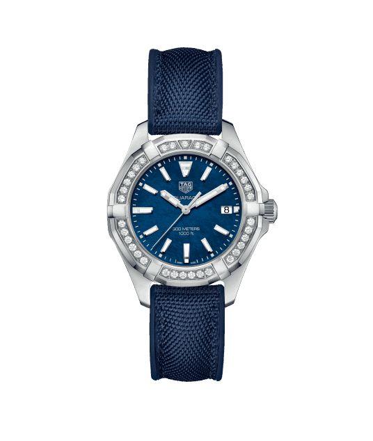 Aquaracer Aquaracer - 35 mm -  Quartz WAY131N.FT6091 TAG Heuer watch price