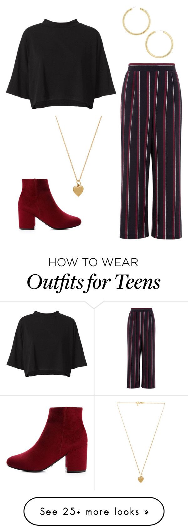 """""""Dallas"""" by imveryconfused on Polyvore featuring RE/DONE, BaubleBar and Vanessa Mooney"""