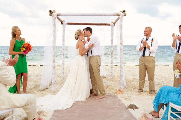 Mexico destination wedding locations   Cancun beach wedding venues   Excellence Playa Mujeres (FineArt Studio Photography)