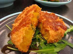 Pumpkin (Kabocha) Korroke