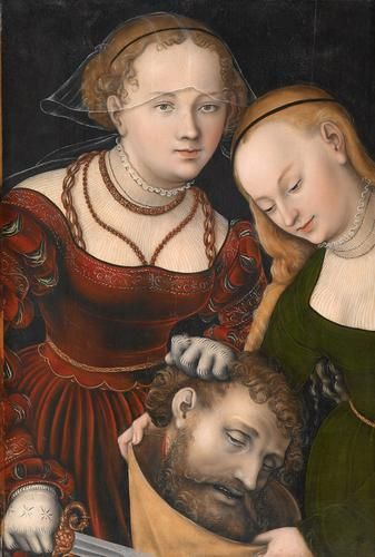 Artist: Lucas Cranach the Elder  Completion Date: c.1537  Place of Creation: Germany  Style: Northern Renaissance  Genre: religious painting  Gallery: Kunsthistorisches Museum, Vienna, Austria