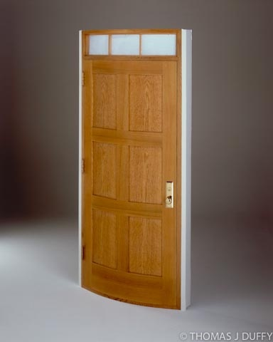 Curved entry door. A frame and panel door with hand-slumped glass transom lites & 11 best Curved Doors images on Pinterest | Pocket doors Pockets ... Pezcame.Com