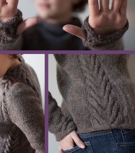 Cozy sweater with thumbholes and pockets. More of a jacket, really.
