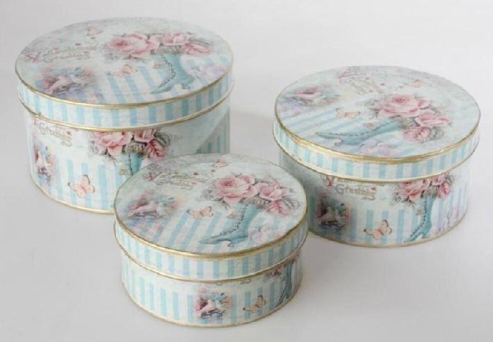 Comprar Cajas para el té, cajas de madera, chapa o metal y costureros - Tienda Barcelona, Birdikus