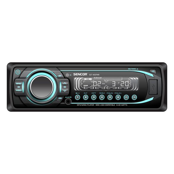 SCT 4057MR - Car radio with media player
