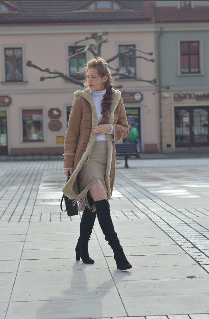 #kożuch #Sheepskin coat