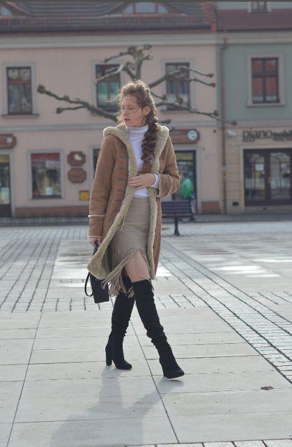#kożuch #Sheepskin coat