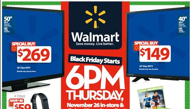 Walmart Black Friday Store Maps, Wristbands, Ad, Doorbusters, and 1-Hour Deals