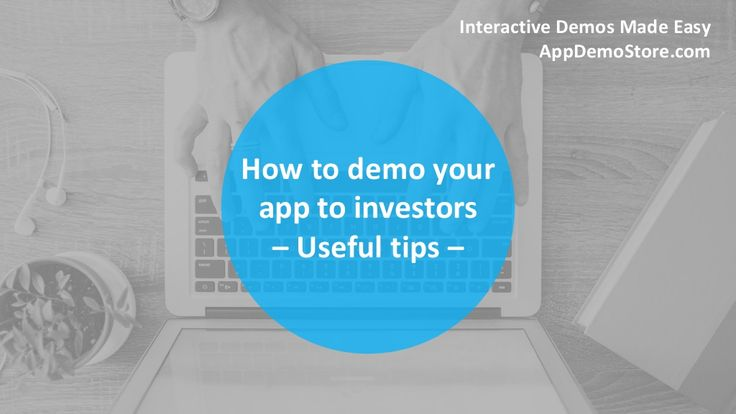 Here is a cool presentation about how to demo your app to investors with AppDemoStore. Take a look and learn! The process it's very easy and fast. #appdemostore #presentation #tutorial