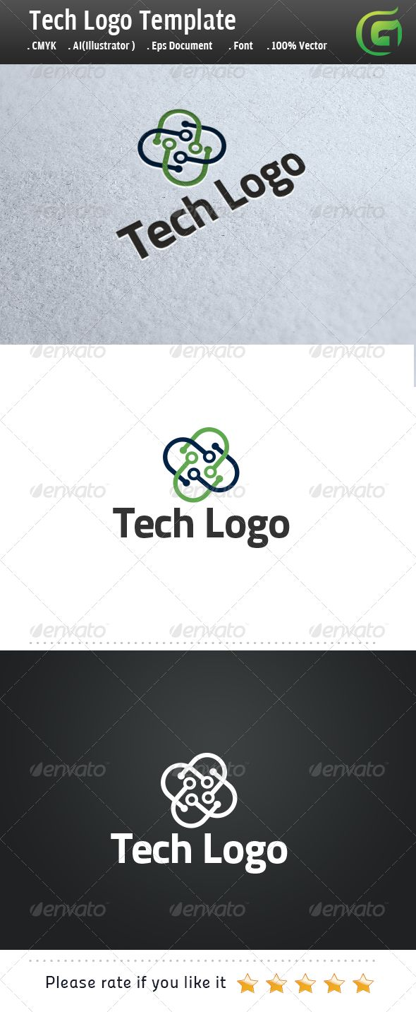 Tech Logo Logo for sale just 29$