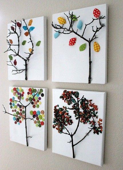Canvas crafts