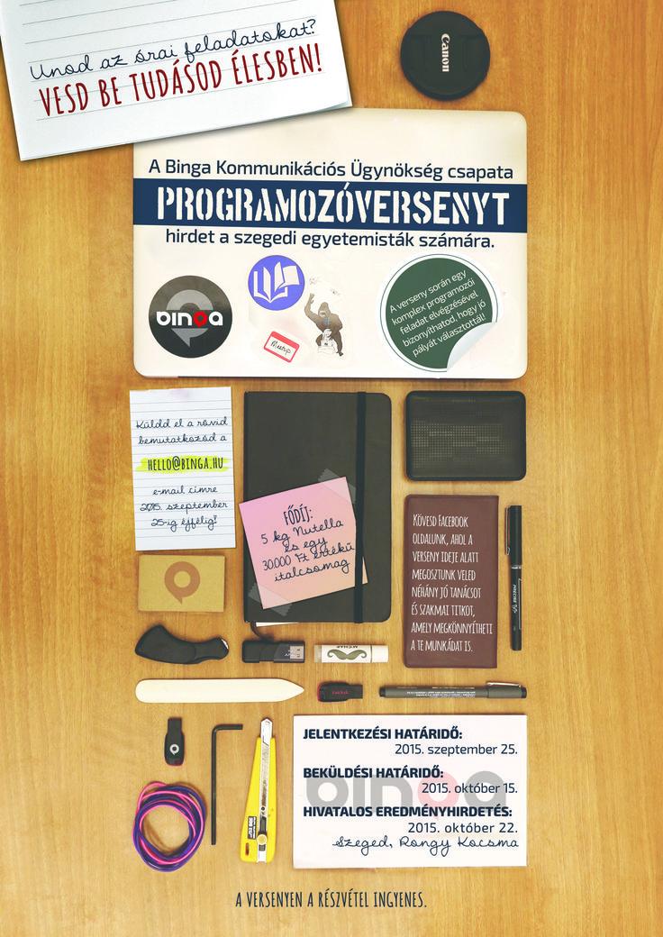 Programozóverseny plakát