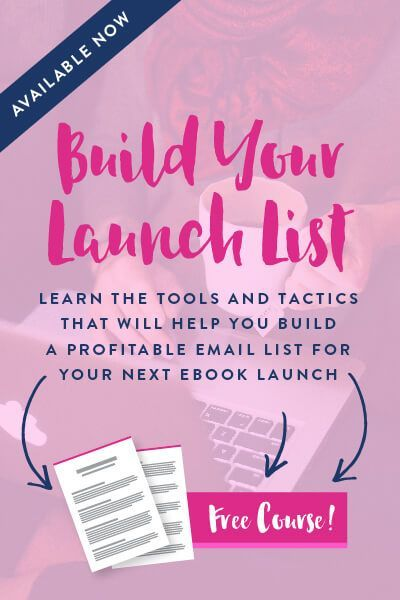 Get ready for your next eBook launch by building a dedicated, focused email list and watch your sales roll in! Click through to see how!