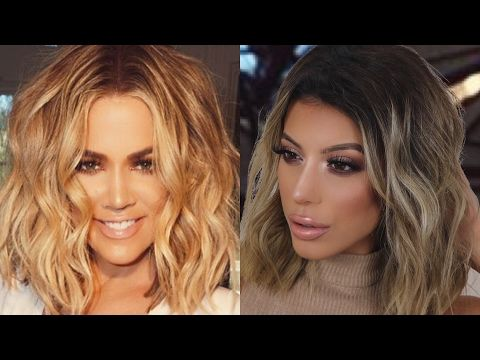 KHLOE KARDASHIAN MAKEUP TUTORIAL | Amys Makeup Box - YouTube