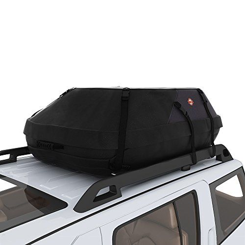 COOCHEER 20 Cubic Feet Waterproof Car Top Carrier  Roof Cargo Bag Box Easy  To Install Soft Rooftop Luggage Carriers With Wide Straps, Best For  Traveling, ...