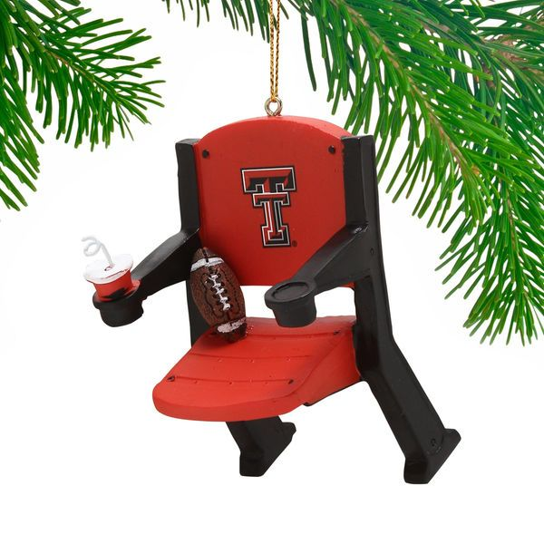 Texas Tech Red Raiders Stadium Chair Ornament - $11.99