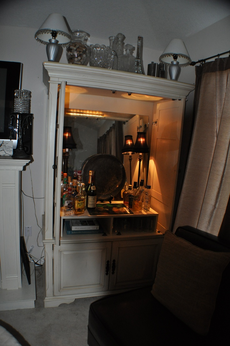 Best 25+ Armoire bar ideas on Pinterest | Tall bar cabinet ...