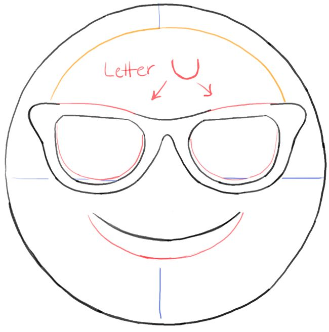 how to draw emojis on paper baby to color