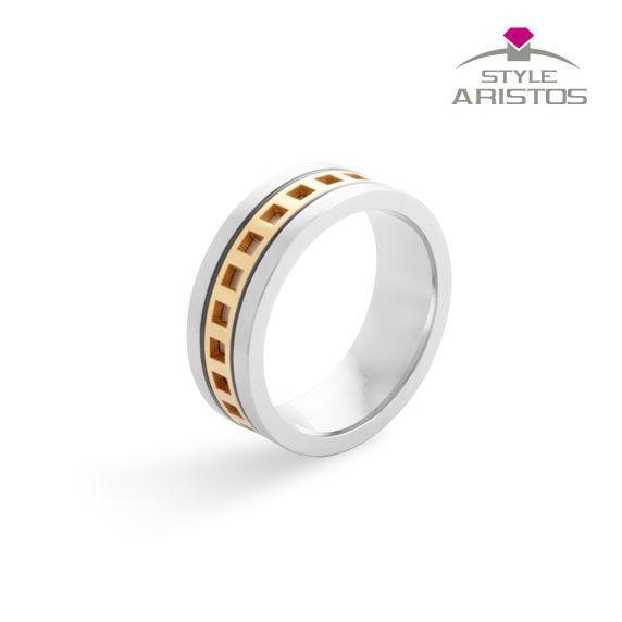 Diseño, calidad y pasión por los detalles hacen de este #anillo de #plata bañado en #oro una #joya única.
