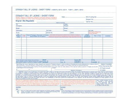 The 25+ best Bill of lading ideas on Pinterest Bill of sale - printable bill of lading short form