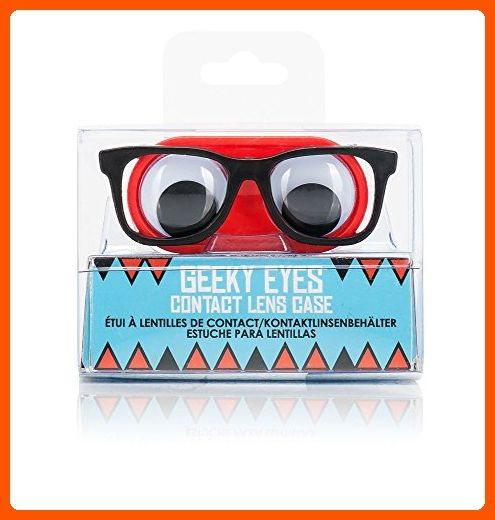 Geeky Eye Contact Lense Case - Fun stuff and gift ideas (*Amazon Partner-Link)