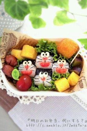 Doraemon bento