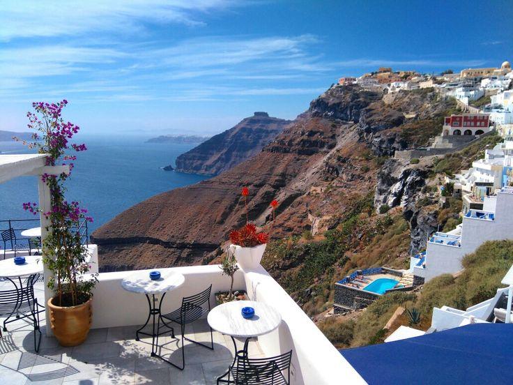 Szukając nowych miejsc na kolejną sesję ślubną przesyłam Wam moc gorącej Grecji :) #sesjaslubnazagranica #fira #santorini