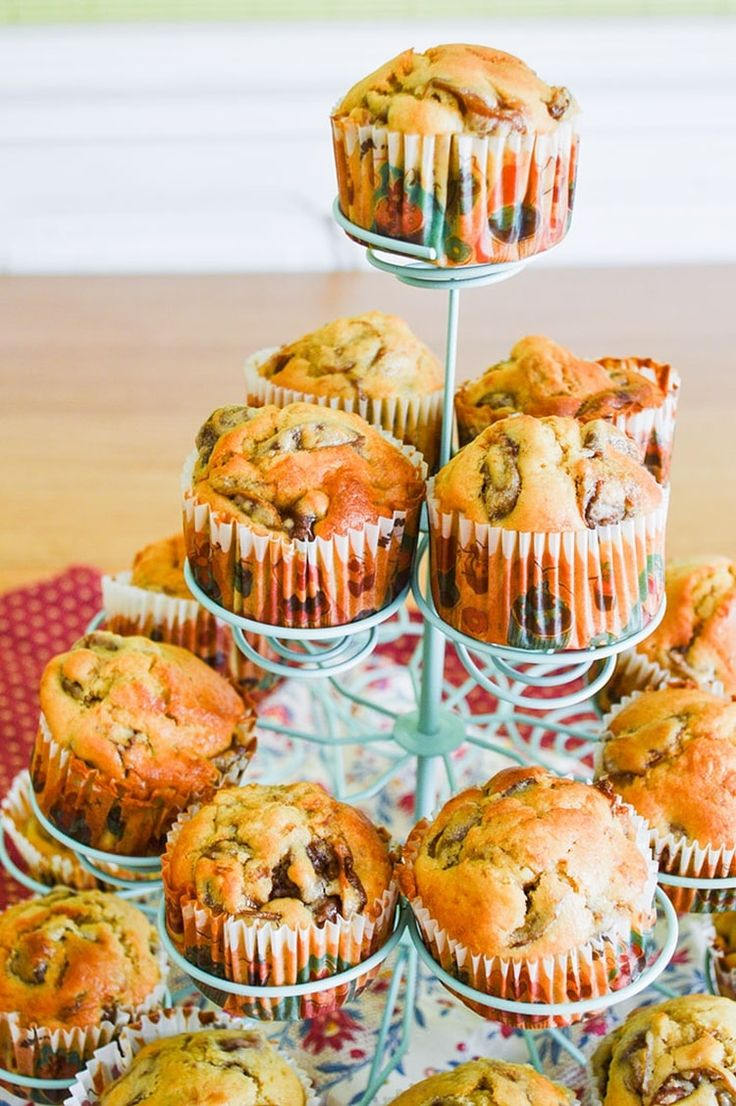 Muffin moelleux aux mirabelles
