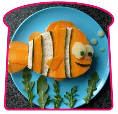 """""""Sandwich Art""""....UK-based food artist Mark Northeast knows how to really rock a sandwich! He creates sandwiches that his son Oscar would eat, in the forms of unique images, such as Winnie the Pooh(above) , to encourage kids to eat a varied diet. He hopes to soon come out with a photo book of his work"""
