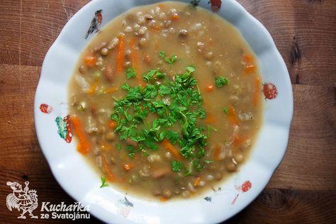 Kuchařka ze Svatojánu: HRSTKOVÁ POLÉVKA