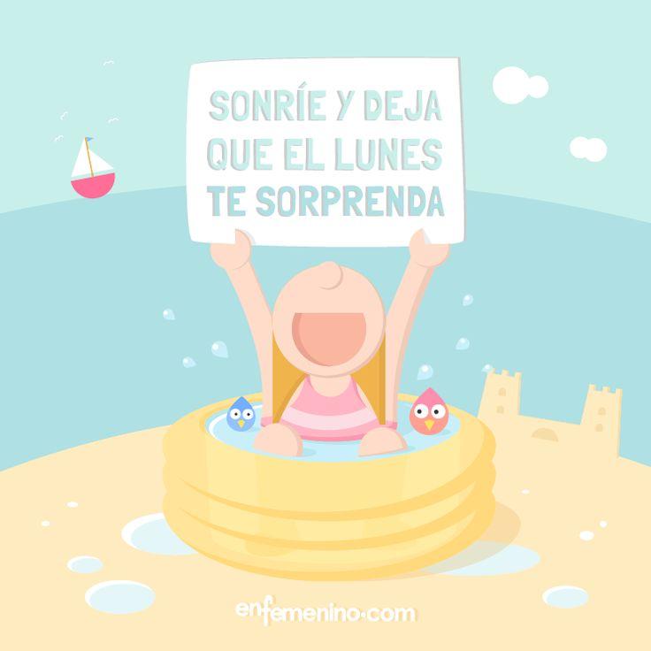 Seguro que hoy nos espera un día lleno de #sorpresas #lunes #frasedeldia #motivacion