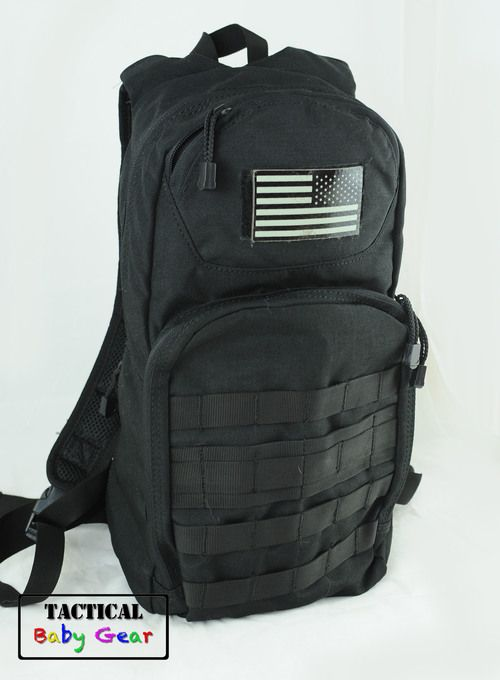 """""""Day Pack"""" by Tactical Baby Gear. Great for dads who are into military style products, or even those who don't want flowery, frilly baby bags. Love it"""