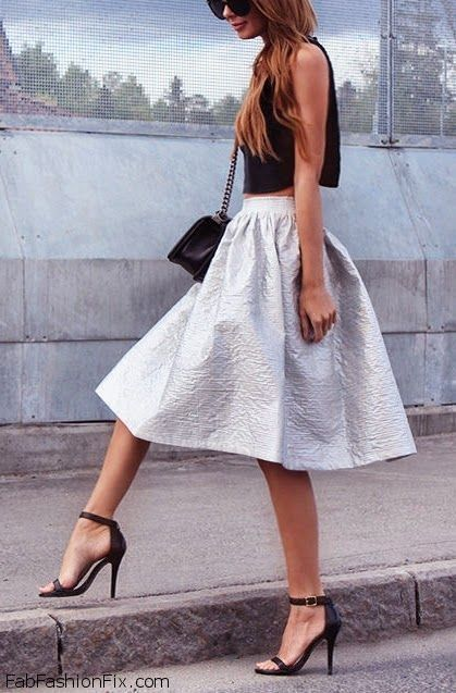 37 best images about Mid-length and midi skirts on Pinterest ...
