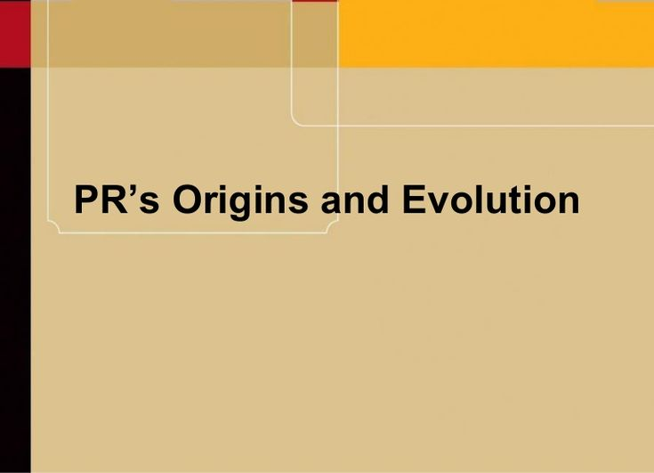 origins-of-public-relations by ksburns71 via Slideshare