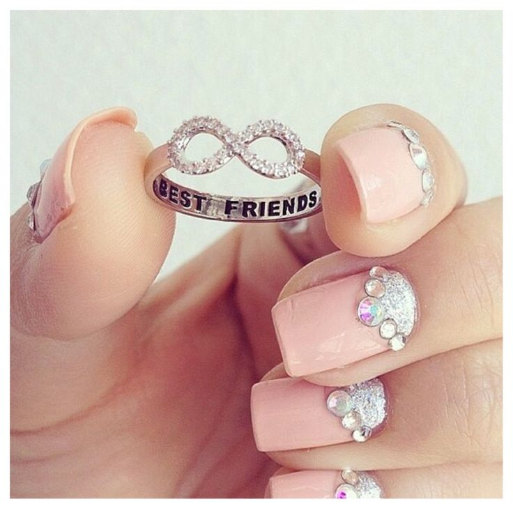 Best Friend Infinity Ring