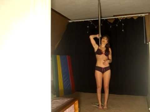 Building Core Strength Using Your Pole..Some Exercises You Can Do! - YouTube