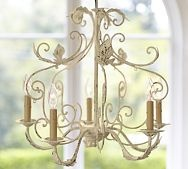 Avery Chandelier: Dining Rooms, Lighting Option, Iron Chandeliers, Bedroom Design, Avery Chandelier, Avery 5 Arm, Pottery Barn, 5 Arm Chandelier, Chandelier Pottery