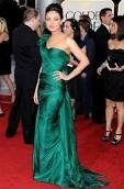 Mila Kunia green dress