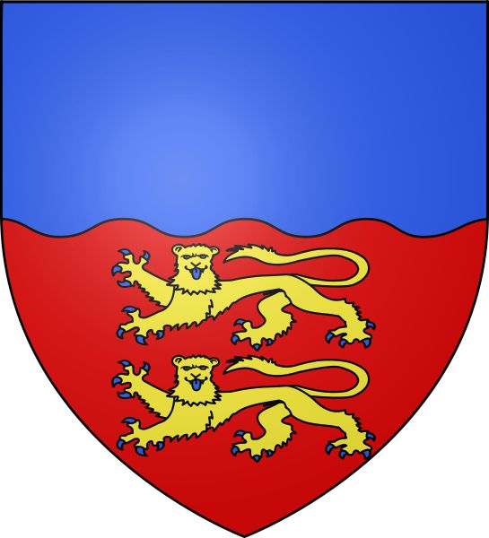 Coat of arms of Calvados,France